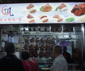 The First Michelin-starred Food Stall