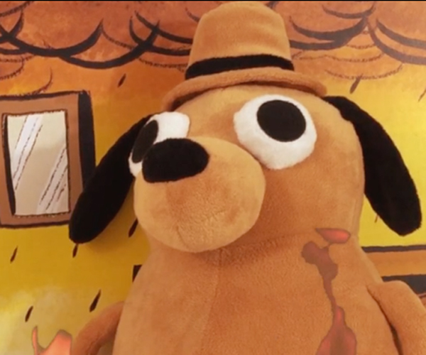 This is Fine Dog Plushie