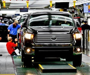 Inside Toyota's Truck Factory