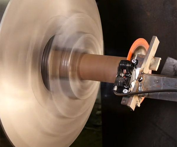 Disc Brake vs. Lathe