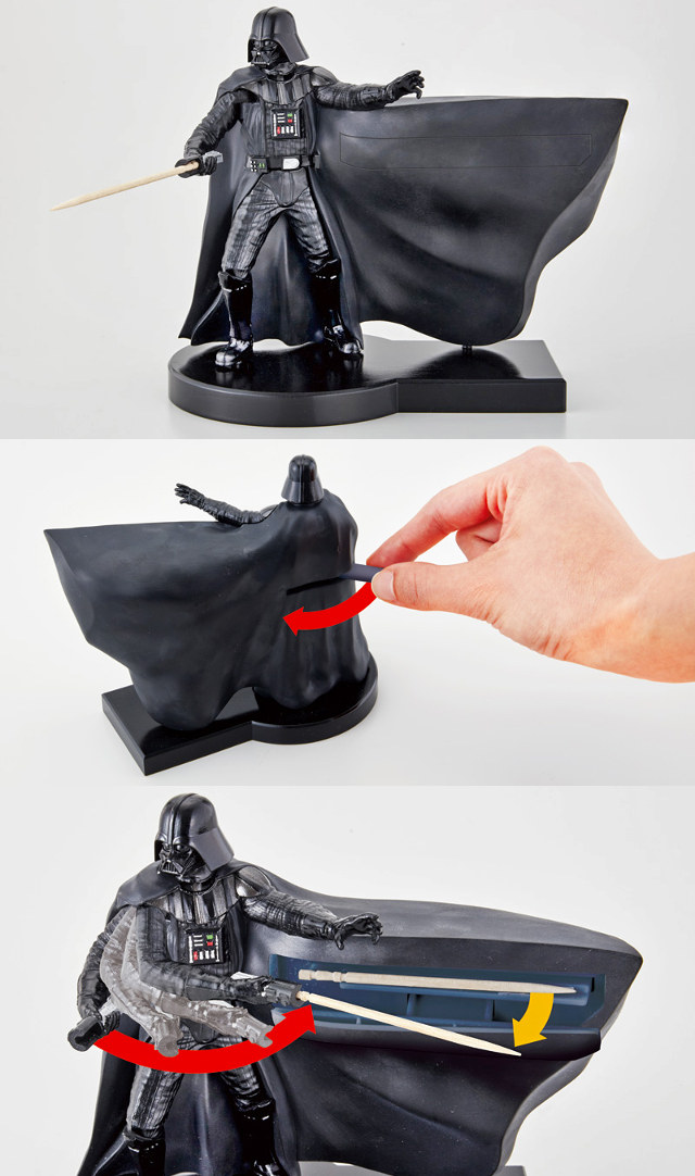 Darth Vader Toothpick Dispenser