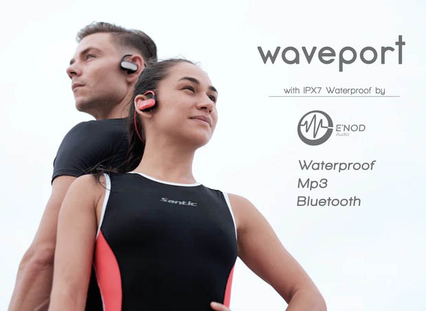 Waveport Waterproof Earphones