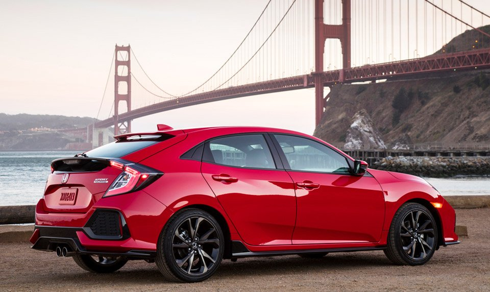 Honda Civic Hitch 2017 Honda Civic Hatchback - The Awesomer