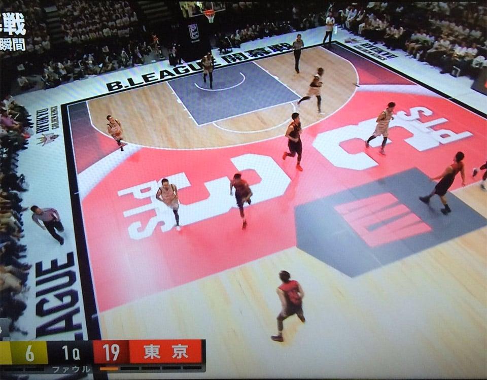 B. League LED Basketball Court