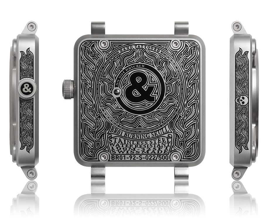 Bell & Ross BR-01 Burning Skull