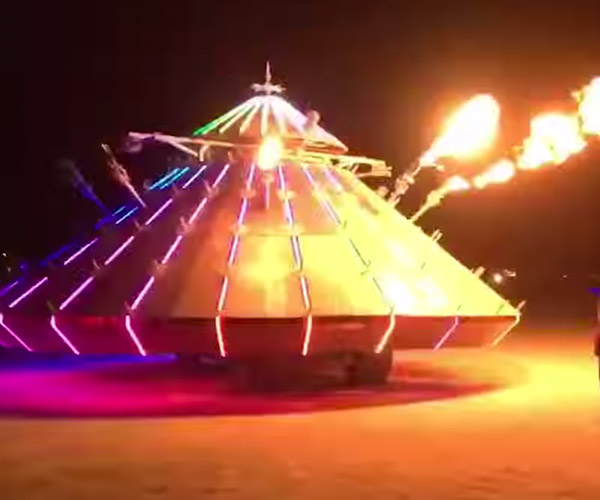 Burning Man 2016 Hyperlapse