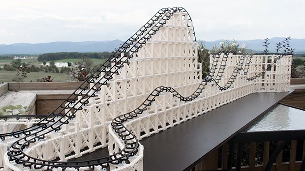 Cyclone Roller Coaster Model Kit