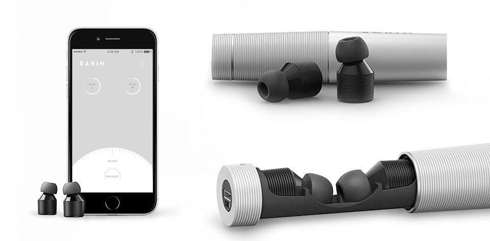 Deal: Earin True Wireless Earbuds