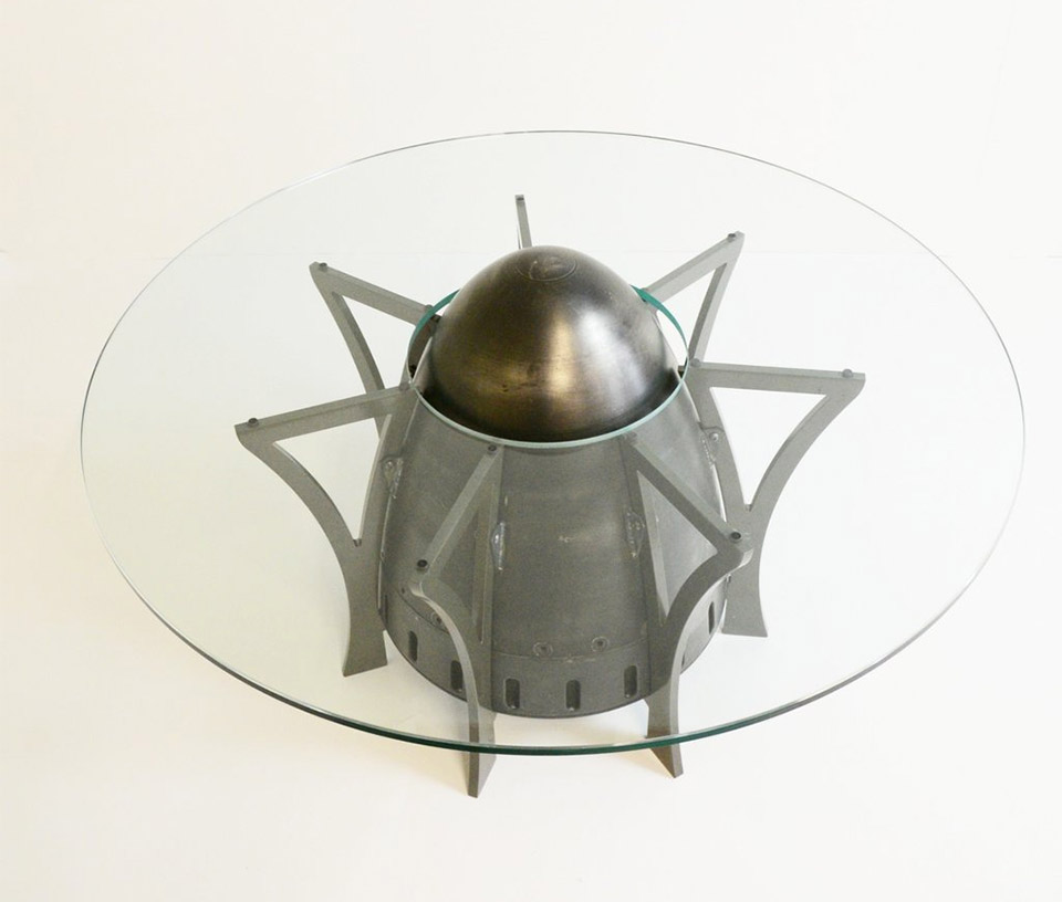 F-4 Exhaust Cone Table