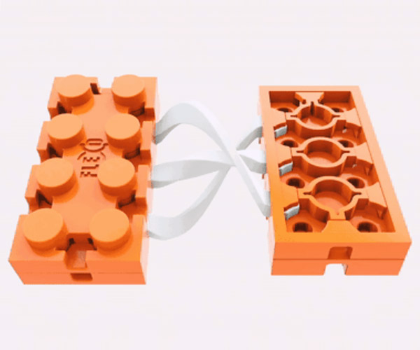 Flexo Building Brick Connectors