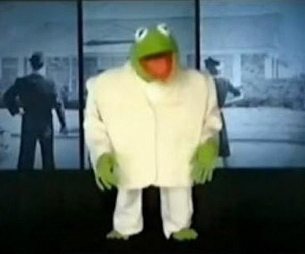 Kermit x David Byrne