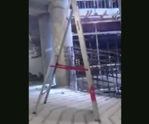 A Ladder Descends
