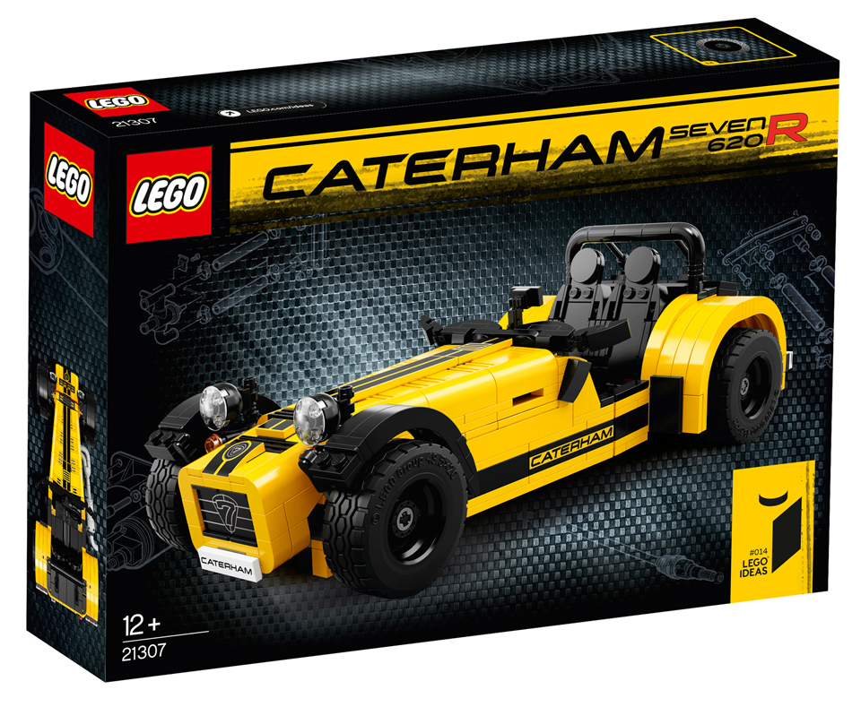 Lego Caterham Seven 620r The Awesomer