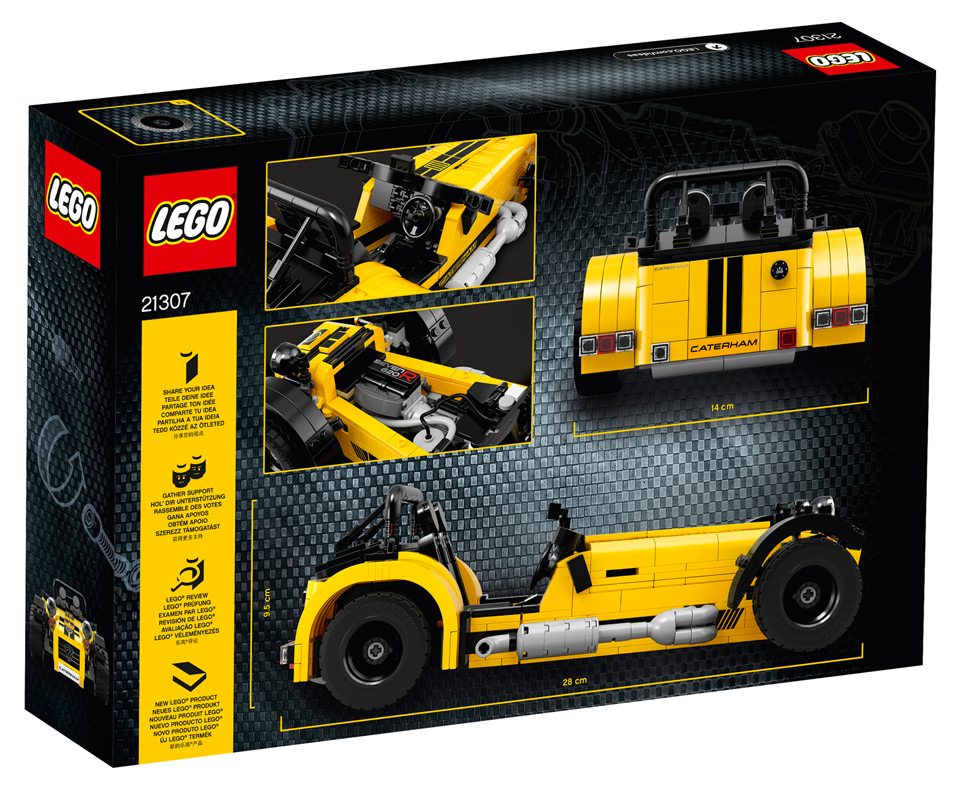 lego caterham seven 620r the awesomer. Black Bedroom Furniture Sets. Home Design Ideas