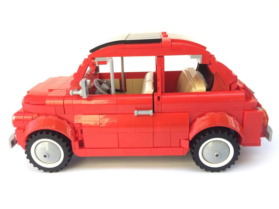 LEGO Fiat 500 L