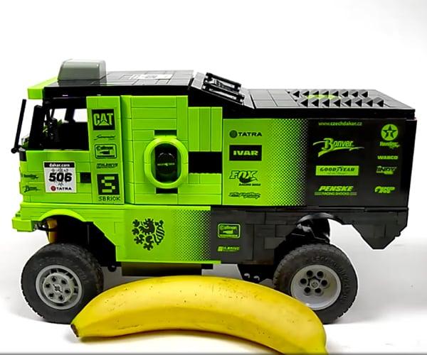 LEGO RC Tatra Dakar 4×4 Truck