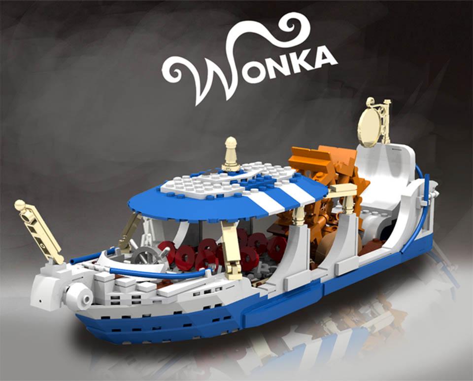 Willy Wonka x LEGO