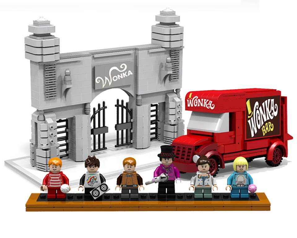 Willy Wonka x LEGO