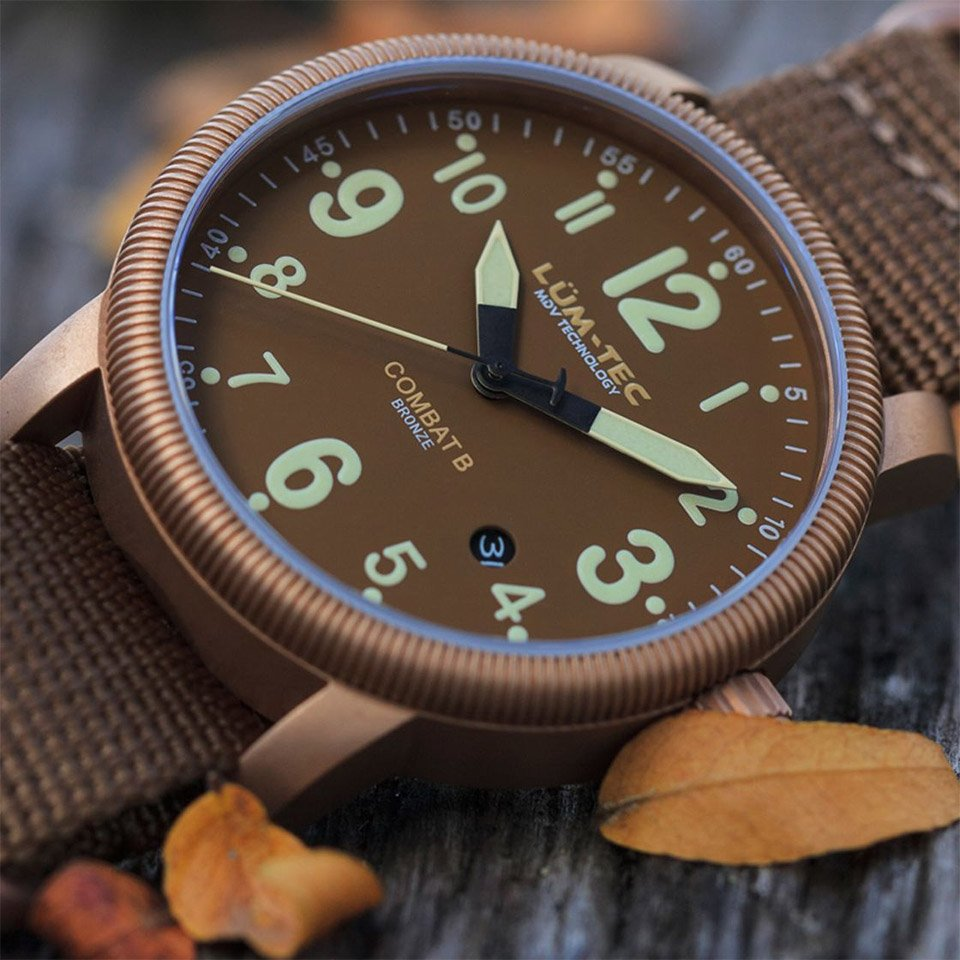 products bronze mg l combat watches crop tec m