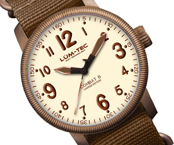Lum-Tec Combat Bronze Watches