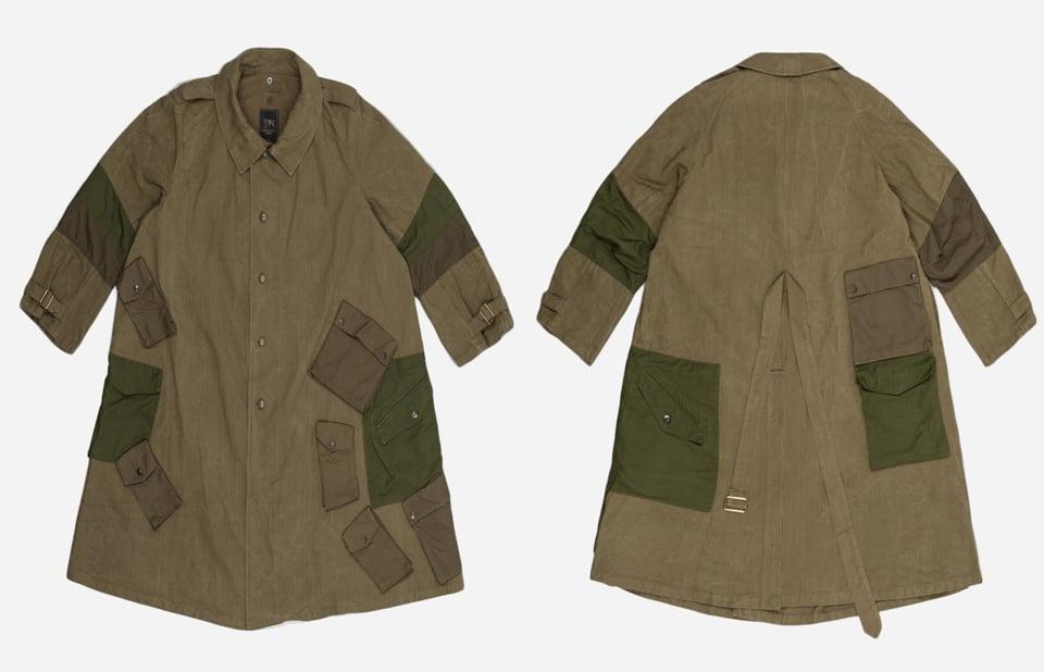 Maharishi Upcycled Cavalry Coat