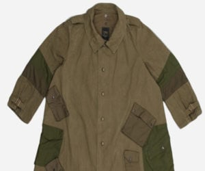 Maharishi Upcycled Cavalry Coat