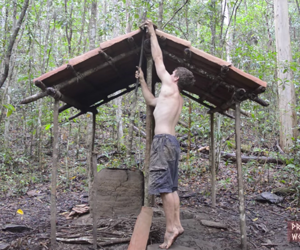 Making a Tiled Roof Shed