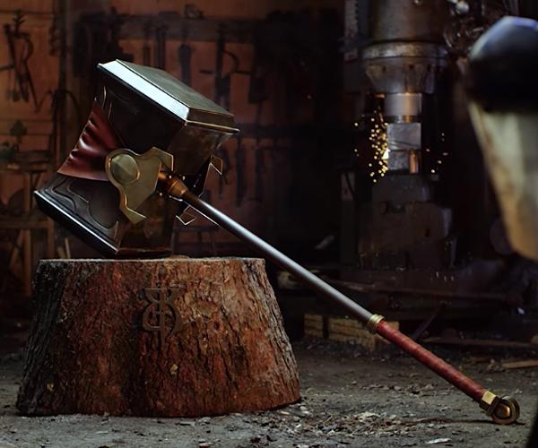Making Poppy's Hammer