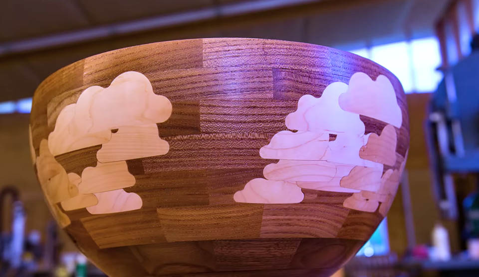 Making a Maple Cloud Bowl