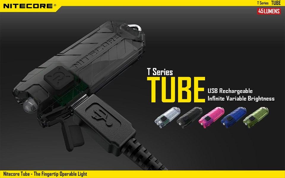 Nitecore Tube Keychain Flashlight