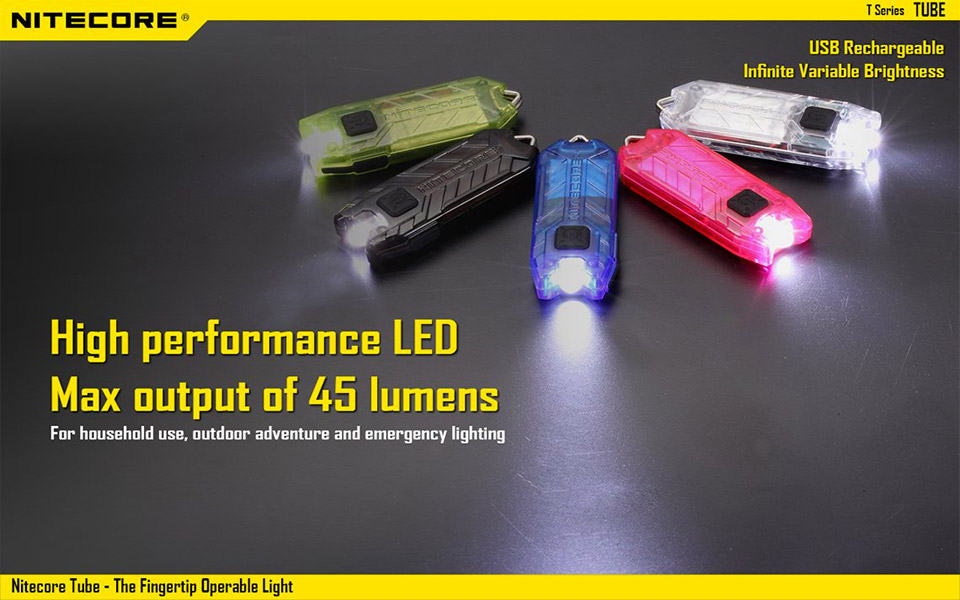 Nitecore Tube Keychain Flashlight