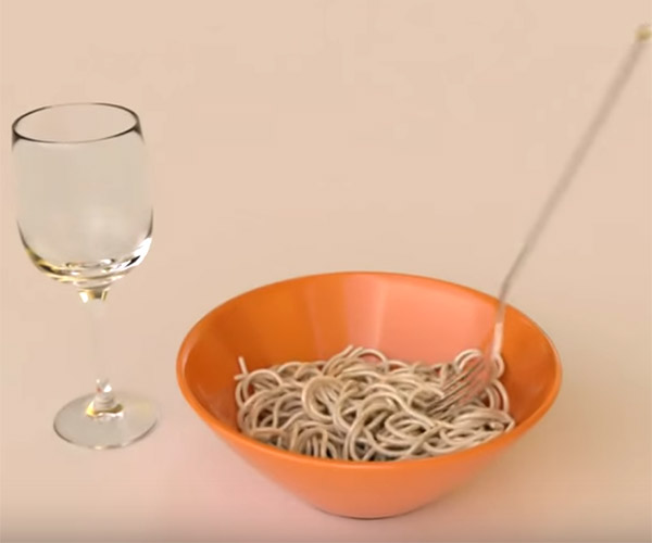 Noodle Physics Simulation