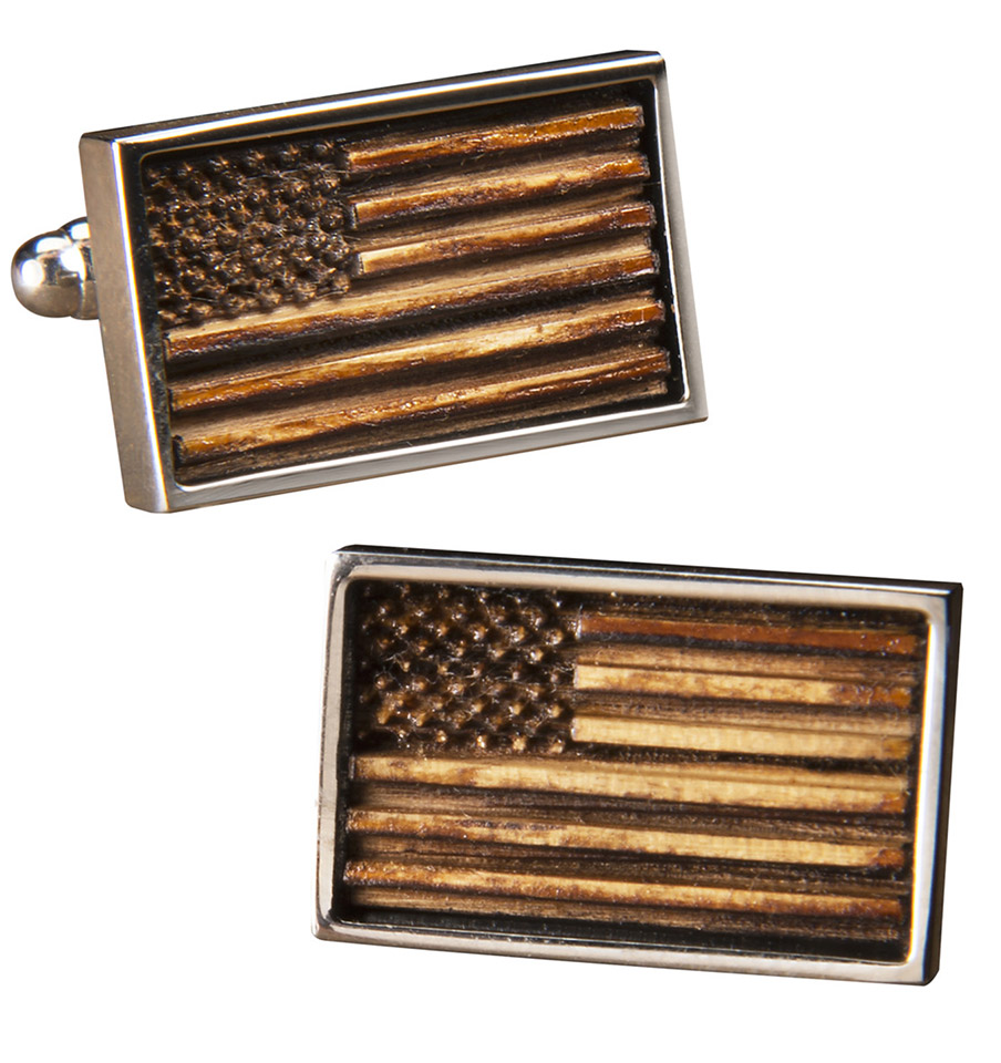 Old Glory Whiskey Cufflinks