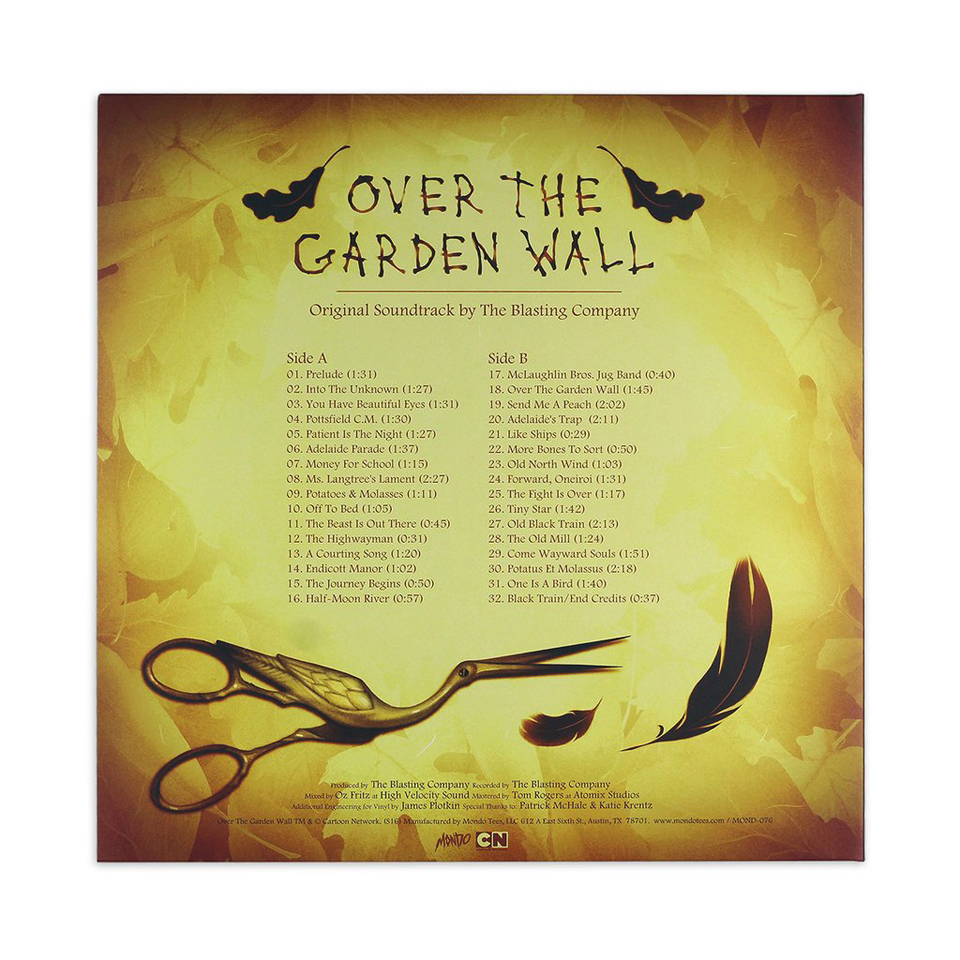 Over the Garden Wall OST LP