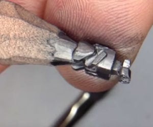 Carving Pencil Tip Sculptures