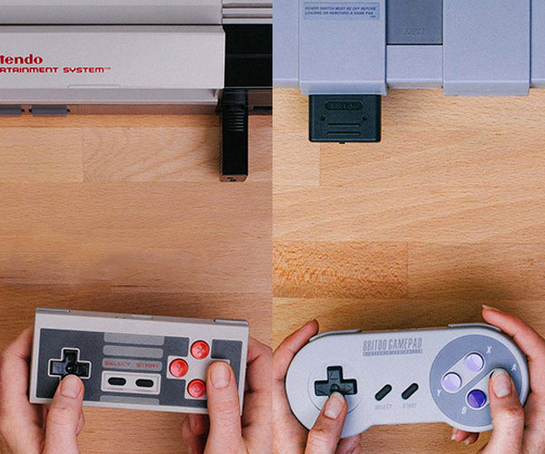 Deal: NES & SNES Bluetooth Gamepads