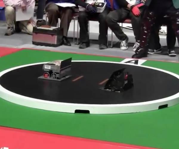 Robot Sumo Wrestling