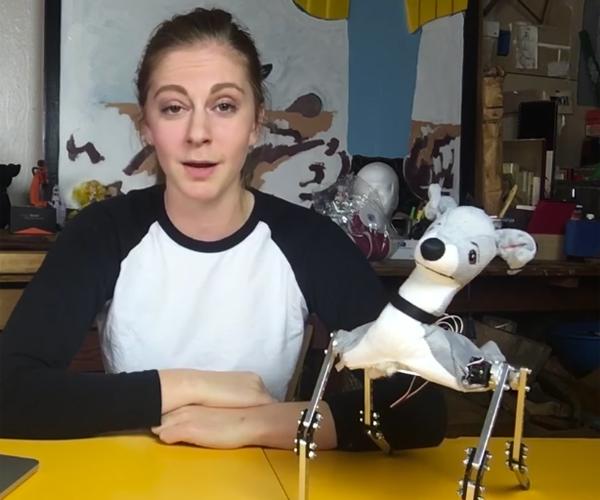 Simone Giertz's Robot Dog