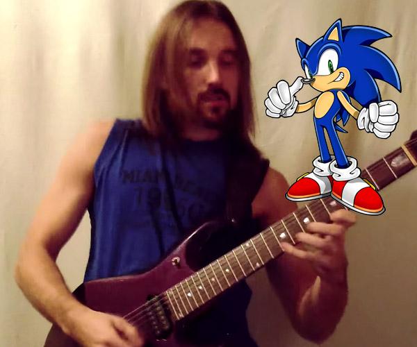 Sonic Goes Metal