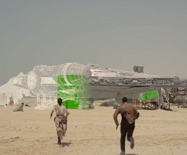 The Force Awakens ILM VFX Reel