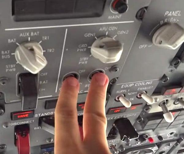 Starting a 737