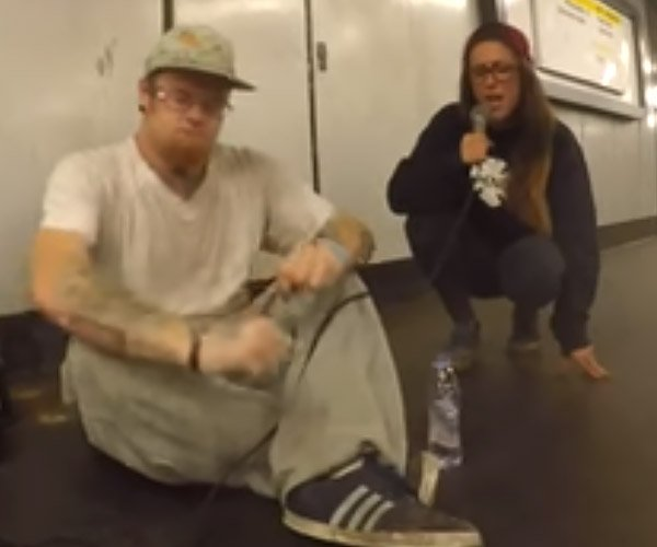 Impromptu Subway Jam