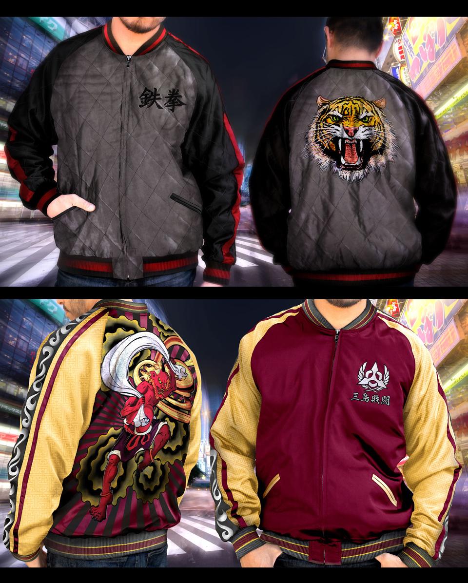 Tekken Heihachi Sukajan Jacket