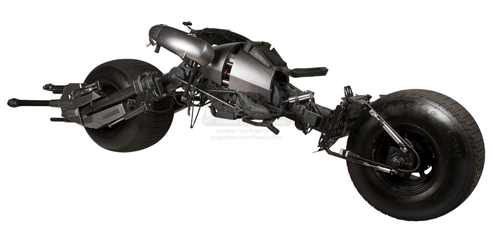 Dark Knight Batpod Movie Prop