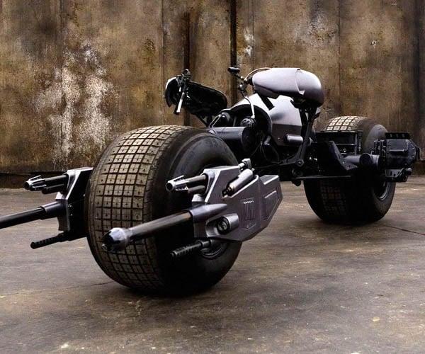 Dark Knight Batpod Movie Prop