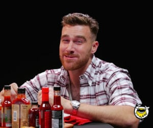 Travis Kelce vs. Hot Wings