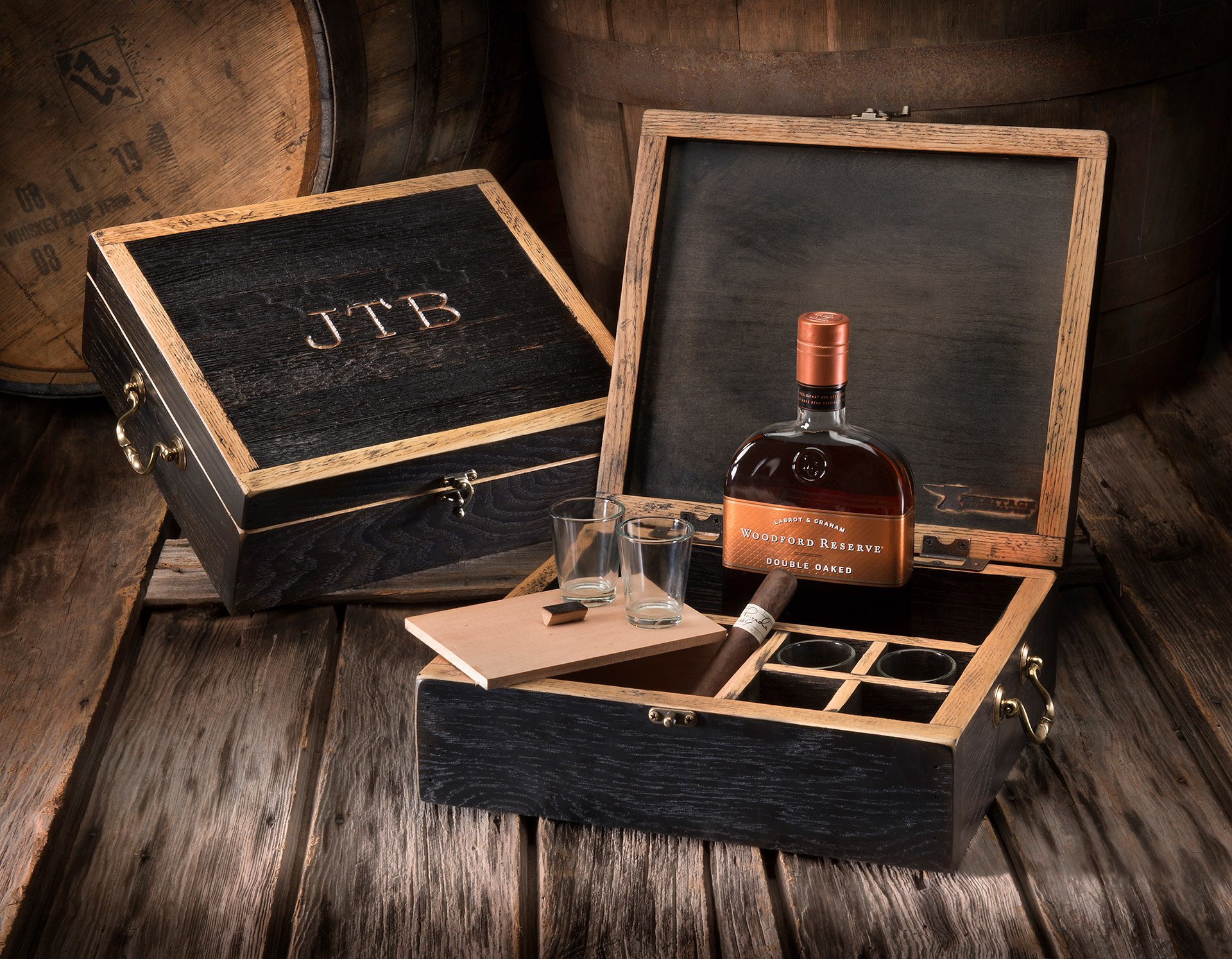 Whiskey Barrel Celebration Box