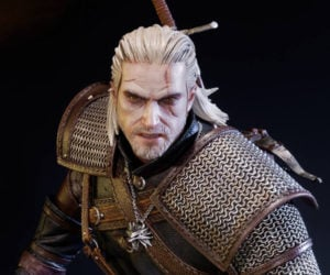 Prime 1 Witcher 3 Geralt of Rivia Statue