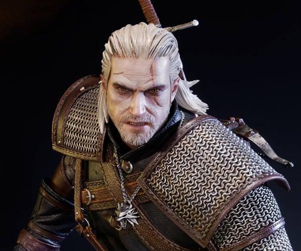 Prime 1 Witcher 3 Geralt of Rivia Statue