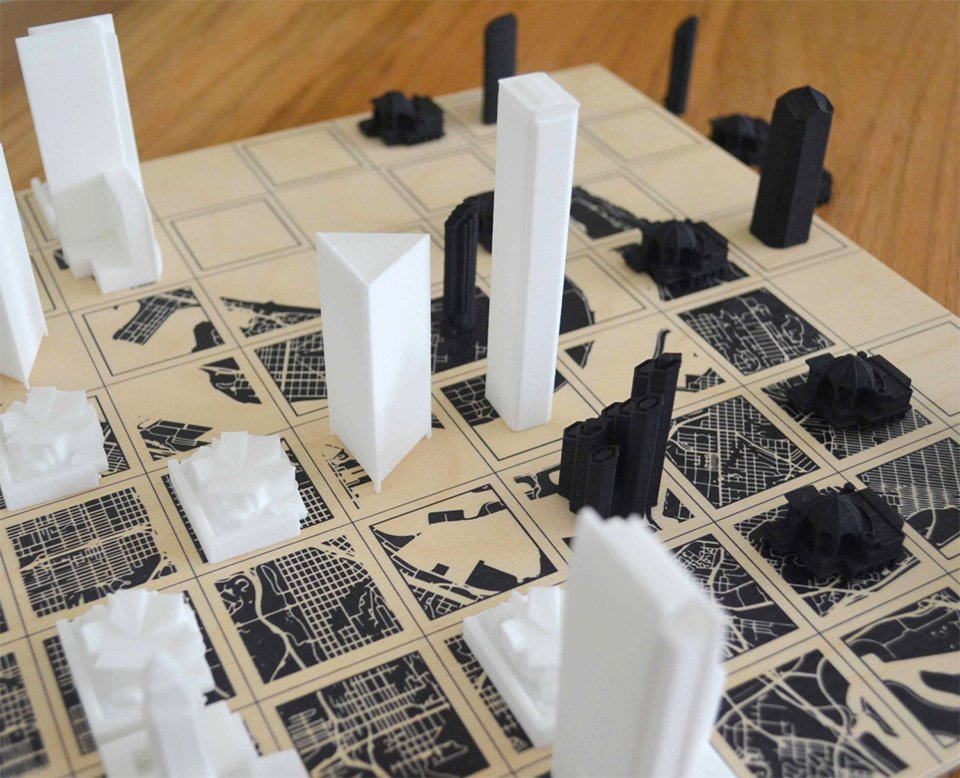 City Chess Sets